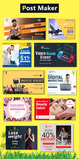 Brand Maker - Logo Maker, Graphic Design App 12.0 Screenshots 3