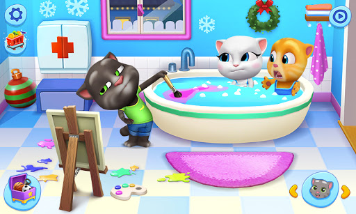 My Talking Tom Friends 1.5.1.4 screenshots 1