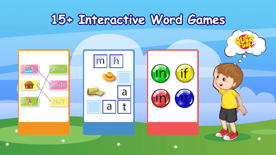 Kindergarten kids Learn Rhyming & Sight Word Games Screenshot