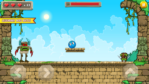 Blue Ball 11: Bounce Ball Adventure 2.1 screenshots 13