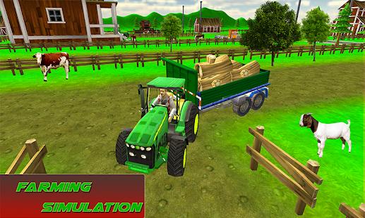 Mega Tractor Simulator - Farmer Life 2019 1.0.2 Screenshots 3