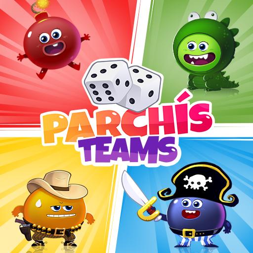 Parchís TEAMS -Magic Ludo & Mega dice! USA Vip Bet