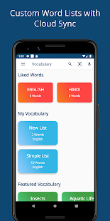 English Hindi Dictionary Free Offline Translate Screenshot