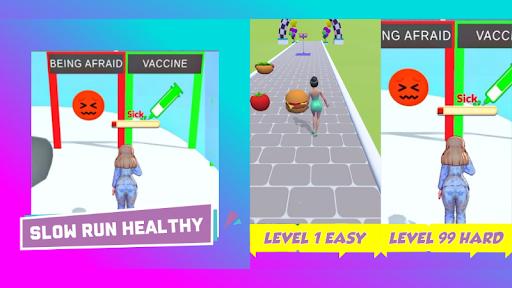 slow run healthy all levels 1 easy level 99 hard 0.3 screenshots 4