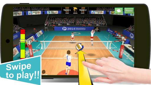 Volleyball Champions 3D - Online Sports Game 7.1 Screenshots 2