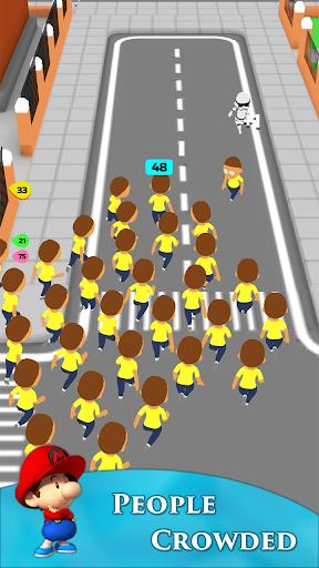 Crowd Run 3D : Multiplayer  screenshots 1