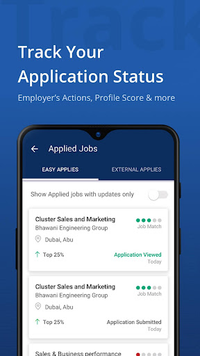 Naukrigulf- Career & Job Search App in Dubai, Gulf 4.0 Screenshots 5