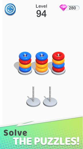 Color Sort Puzzle: Color Hoop Stack Puzzle 1.0.12 screenshots 8