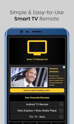 Smart TV Remote Control  Screenshots 1