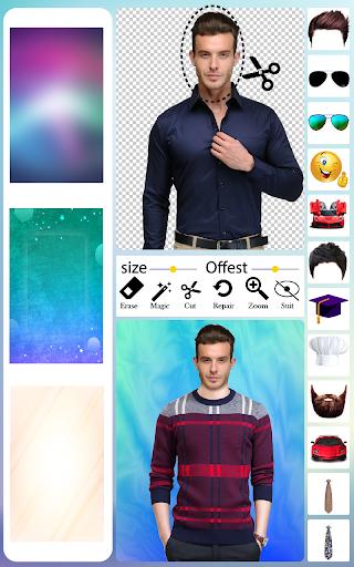 Men T-Shirt Photo Editor and Sweatshirt Dress apktram screenshots 15
