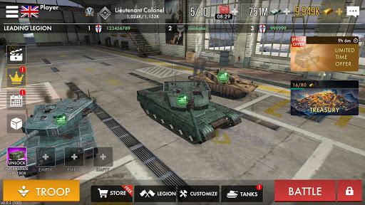 Tank Warfare: PvP Blitz Game  screenshots 16