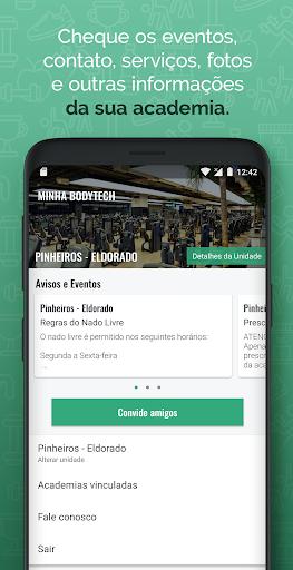 Bodytech android2mod screenshots 2