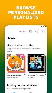 Soundcloud Premium Mod Apk Unlocked Latest Version Free Download 4