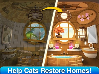 Cat Home Design: Decorate Cute Magic Kitty Mansion 1.20 Apk + Mod 2