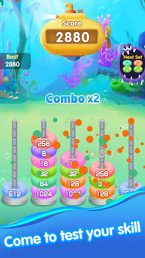 Ocean Ring Master-Number Puzzle Game 1.0.7 screenshots 3