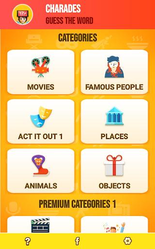 Charades Guess the Word 2.0 screenshots 15