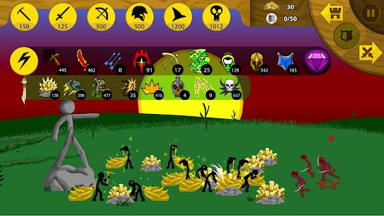 Stickman War 2 Mod Apk 1.0.0 (A Lot of Diamonds) 3
