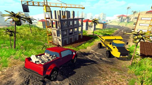 Off road Truck Simulator: Tropical Cargo android2mod screenshots 13
