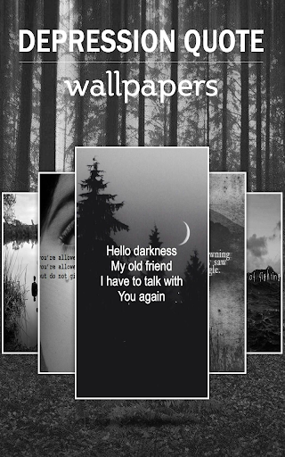 Depression Quote Wallpapers 2.1 screenshots 1