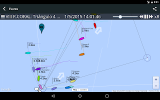 eStela - Sailing tracker