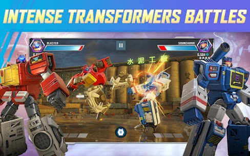 Transformers Forged to Fight MOD APK 2