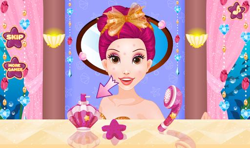 Mermaid Princess Dress Up - Spa, Makeup Salon Game android2mod screenshots 1