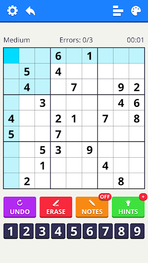 Numbers Puzzle 2021 - free classic puzzle game 1.2.0 screenshots 1