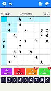 Sudoku Levels 2021 – free classic puzzle game 4