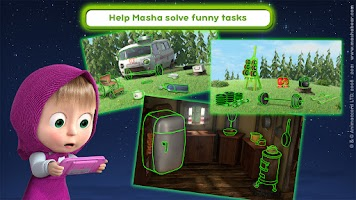 Masha and the Bear: We Come In Peace!