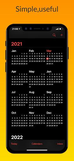 Download APK: iCalendar – Calendar iOS style v1.1.2 (Pro)