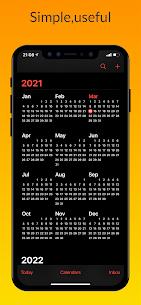 iCalendar MOD APK- Calendar iOS style [Pro Unlocked] 1
