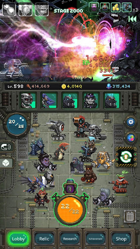 World Beast War: Merge Rampage Monsters  screenshots 14