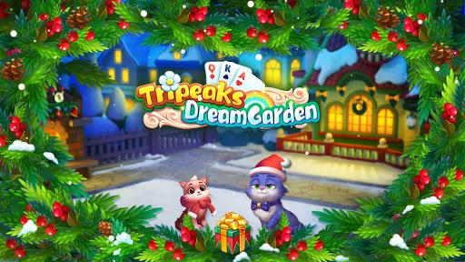 Tripeaks Dream Garden apkslow screenshots 1