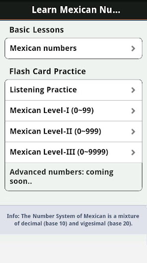 Learn Mexican Numbers, Fast! For PC Windows (7, 8, 10, 10X) & Mac Computer Image Number- 6
