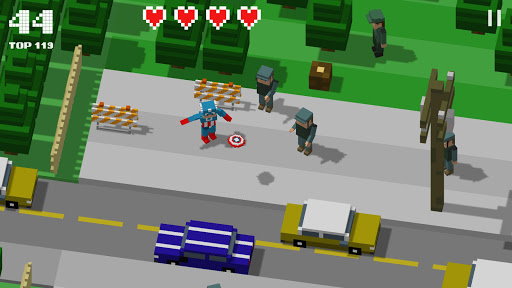 Code Triche Crossy Heroes: Avengers of Smashy City APK Mod screenshots 1