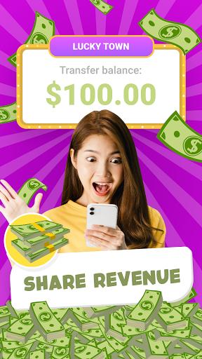 Lucky Town: Merge & Win ud83dudcb0 screenshots 2