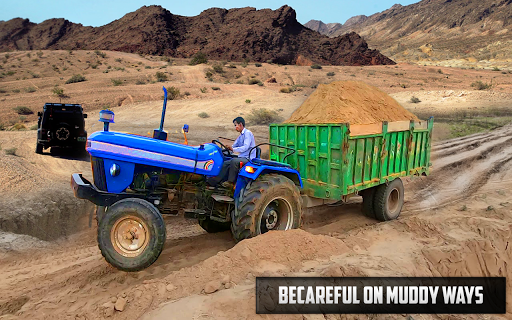 New Tractor trolley Farming Cargo Driver 3D APK MOD Download 1