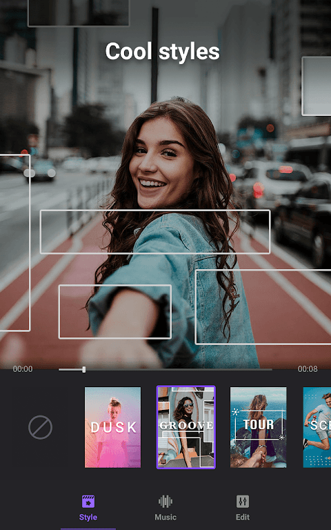 Video Maker of Photos with Music & Video Editor  poster 1