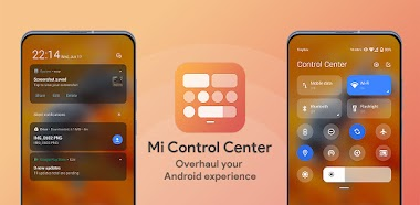 Mi Control Center 18.1.5 - Notifications And Quick Actions