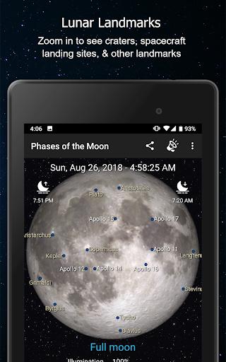 Phases of the Moon Calendar & Wallpaper Pro  screenshots 7