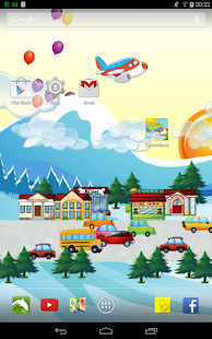 Cartoonland Live Wallpaper