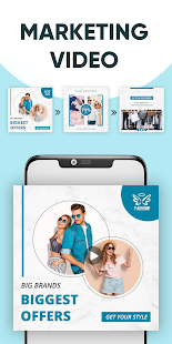 Marketing Video Maker, Promo Video Slideshow Maker screenshots 8