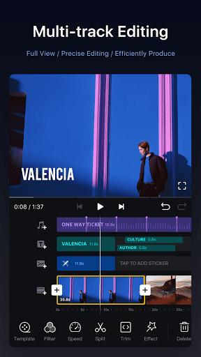 VN Video Editor Maker VlogNow 1.19.6 screenshots 1