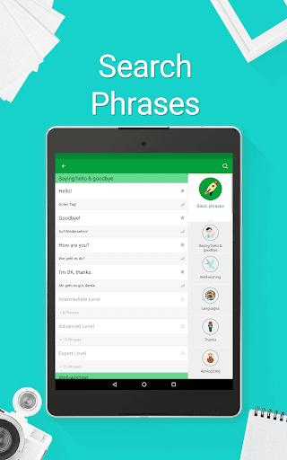 Speak German - 5000 Phrases & Sentences modavailable screenshots 21