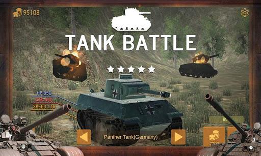3d tank battle screenshot 1