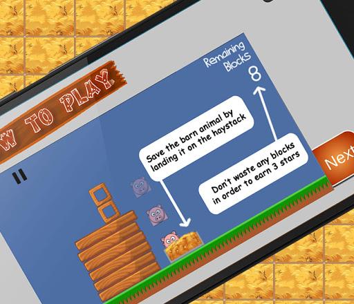 barn tower (physics game) screenshot 1
