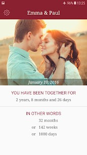 My Love – Relationship Counter 1