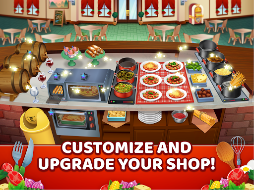 My Pasta Shop - Italian Restaurant Cooking Game modavailable screenshots 14