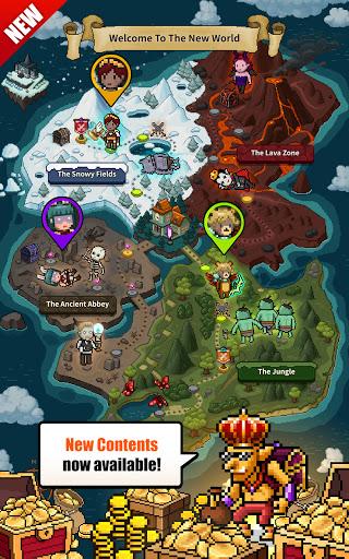 Evil Hunter Tycoon - Nonstop Fighting & Building  screenshots 9