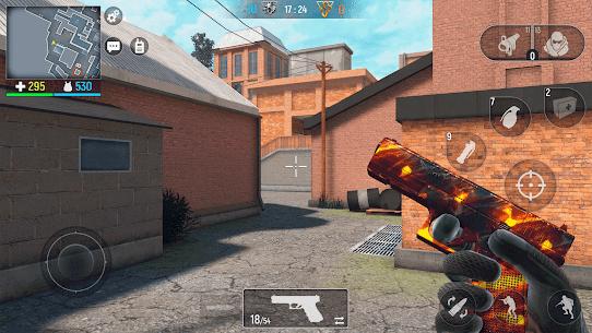 Modern Ops – Online FPS MOD APK 6.65 (Enemies Visible) 2